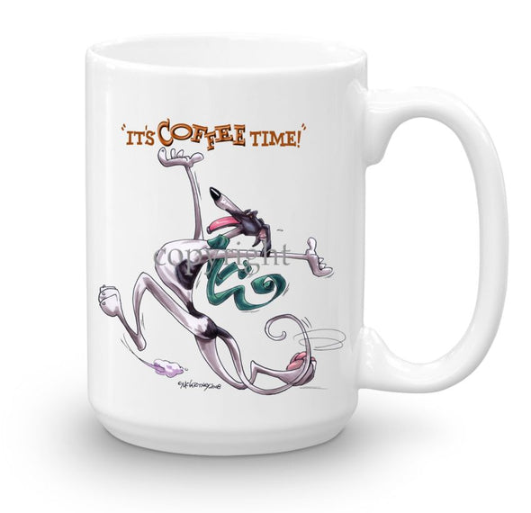 Greyhound - Coffee Time - Mug