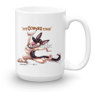 German Shepherd - Coffee Time - Mug