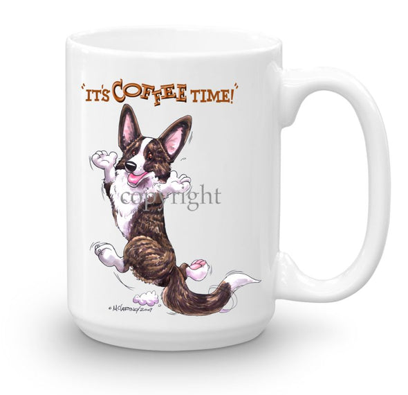 Welsh Corgi Cardigan - Coffee Time - Mug
