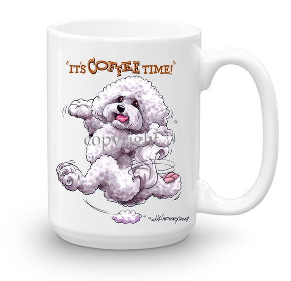 Bichon Frise - Coffee Time - Mug