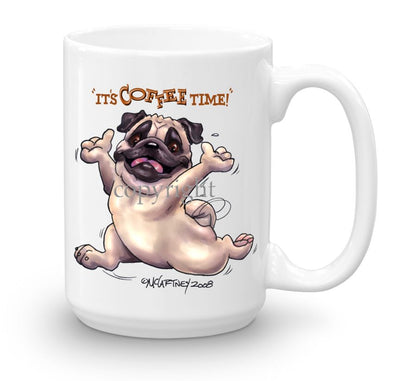 Pug - Coffee Time - Mug