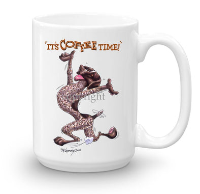 German Shorthaired Pointer - Coffee Time - Mug