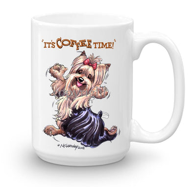 Yorkshire Terrier - Coffee Time - Mug