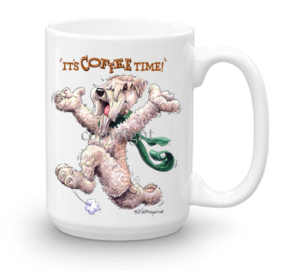 Soft Coated Wheaten - Coffee Time - Mug