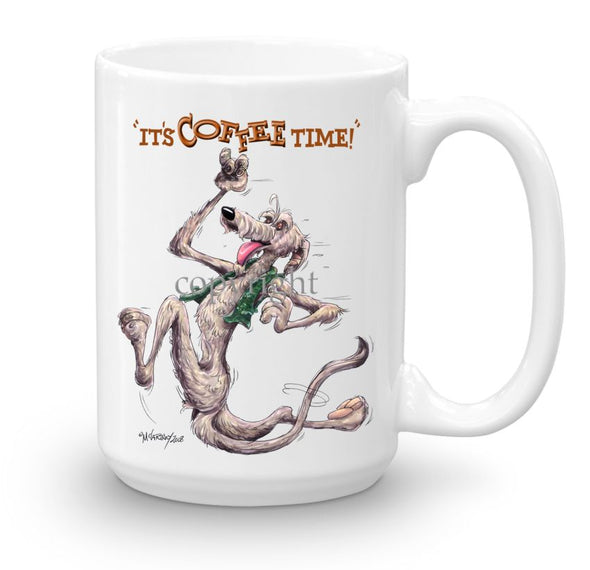 Irish Wolfhound - Coffee Time - Mug