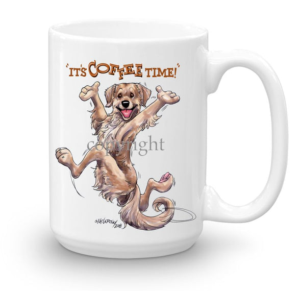 Golden Retriever - Coffee Time - Mug