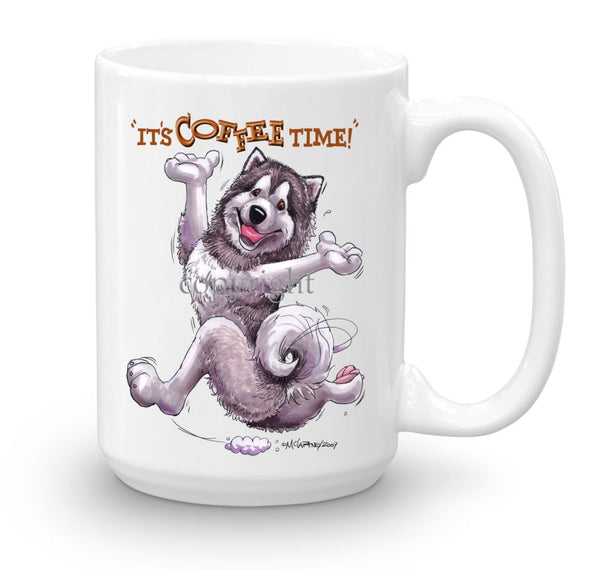 Alaskan Malamute - Coffee Time - Mug