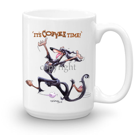 Saluki - Coffee Time - Mug