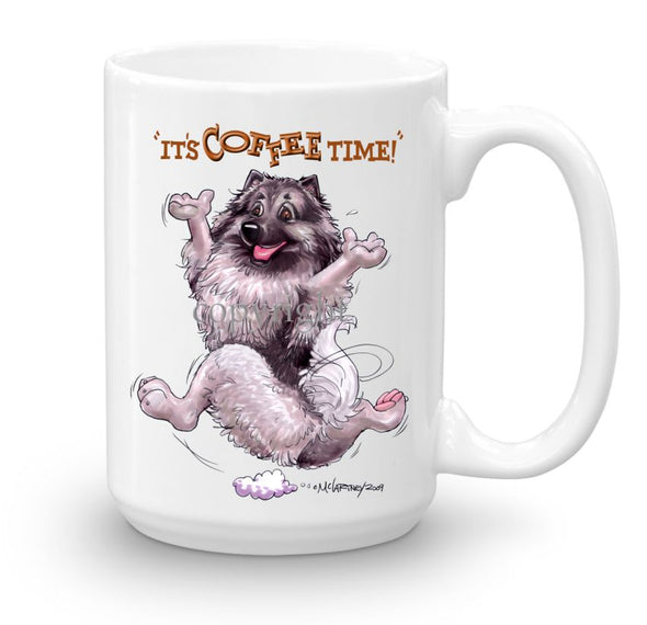 Keeshond - Coffee Time - Mug