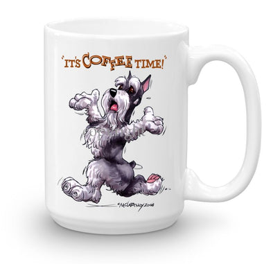 Schnauzer - Coffee Time - Mug