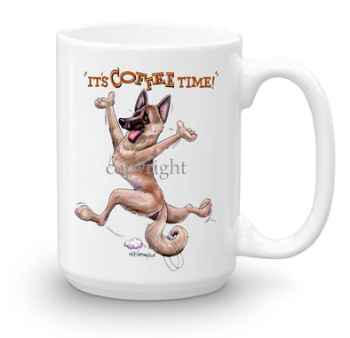 Belgian Malinois - Coffee Time - Mug