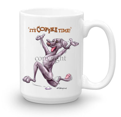 Weimaraner - Coffee Time - Mug