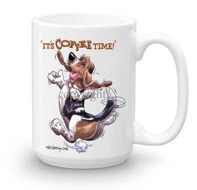 Basset Hound - Coffee Time - Mug