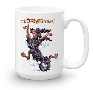 Gordon Setter - Coffee Time - Mug