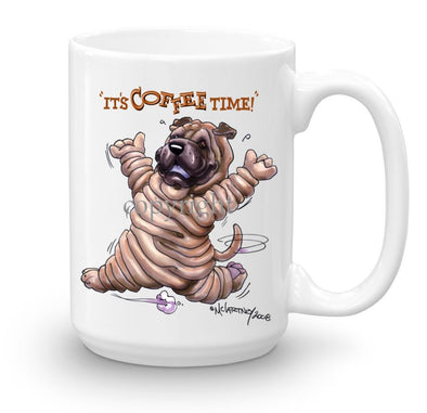 Shar Pei - Coffee Time - Mug