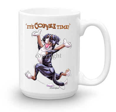 Greater Swiss Mountain Dog - Coffee Time - Mug