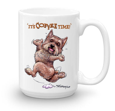 Norwich Terrier - Coffee Time - Mug