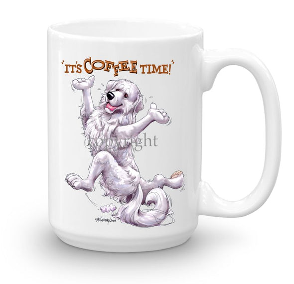 Great Pyrenees - Coffee Time - Mug