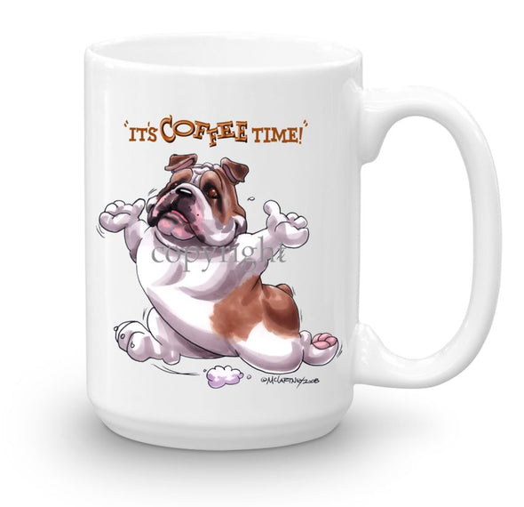 Bulldog - Coffee Time - Mug
