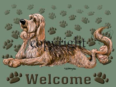 Otterhound - Welcome - Mat