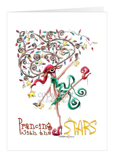Prancing With The Stars - Christmas Gatherings - Christmas Card