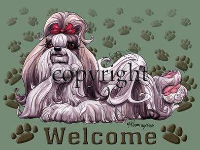 Shih Tzu - Welcome - Mat