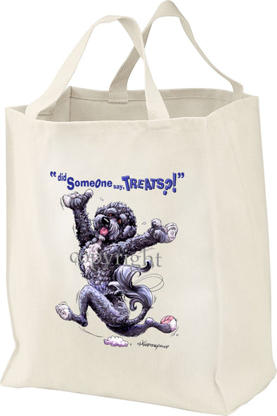 Portuguese Water Dog - Treats - Tote Bag