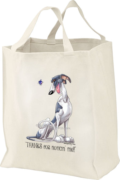 Greyhound - Noticing Me - Mike's Faves - Tote Bag