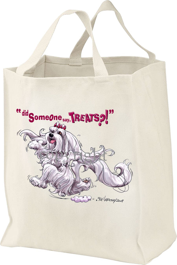 Maltese - Treats - Tote Bag