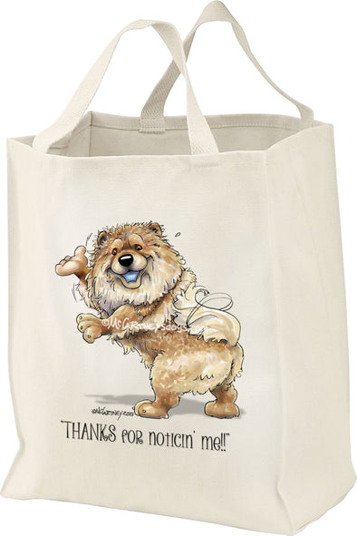 Chow Chow - Noticing Me - Mike's Faves - Tote Bag