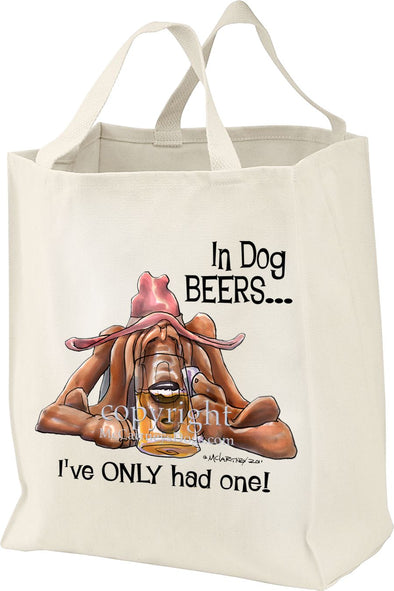 Bloodhound - Dog Beers - Tote Bag