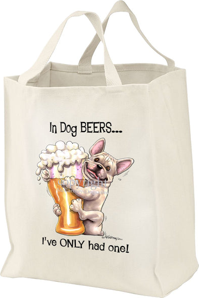 French Bulldog - Dog Beers - Tote Bag