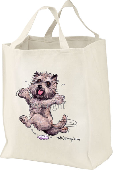 Cairn Terrier - Happy Dog - Tote Bag