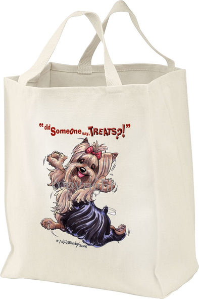 Yorkshire Terrier - Treats - Tote Bag