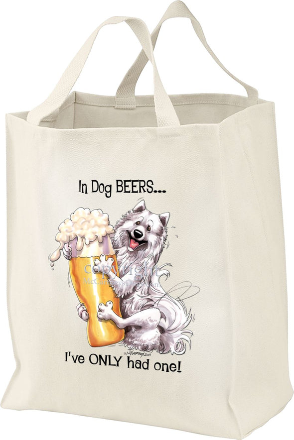 Samoyed - Dog Beers - Tote Bag