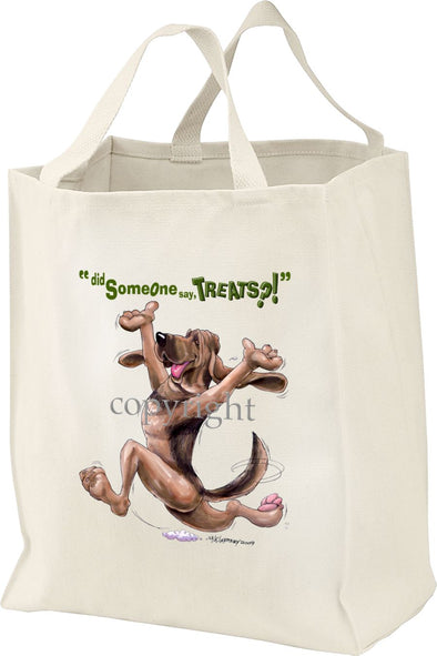 Bloodhound - Treats - Tote Bag