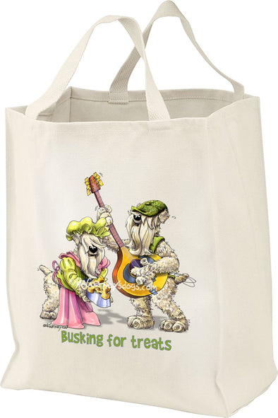 Soft Coated Wheaten - Busking - Mike's Faves - Tote Bag