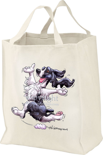 English Springer Spaniel - Happy Dog - Tote Bag