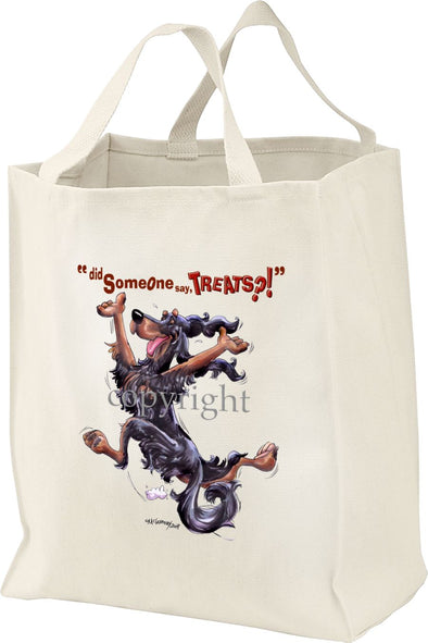 Gordon Setter - Treats - Tote Bag