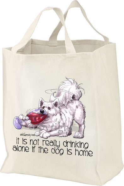 Samoyed - It's Not Drinking Alone - Tote Bag