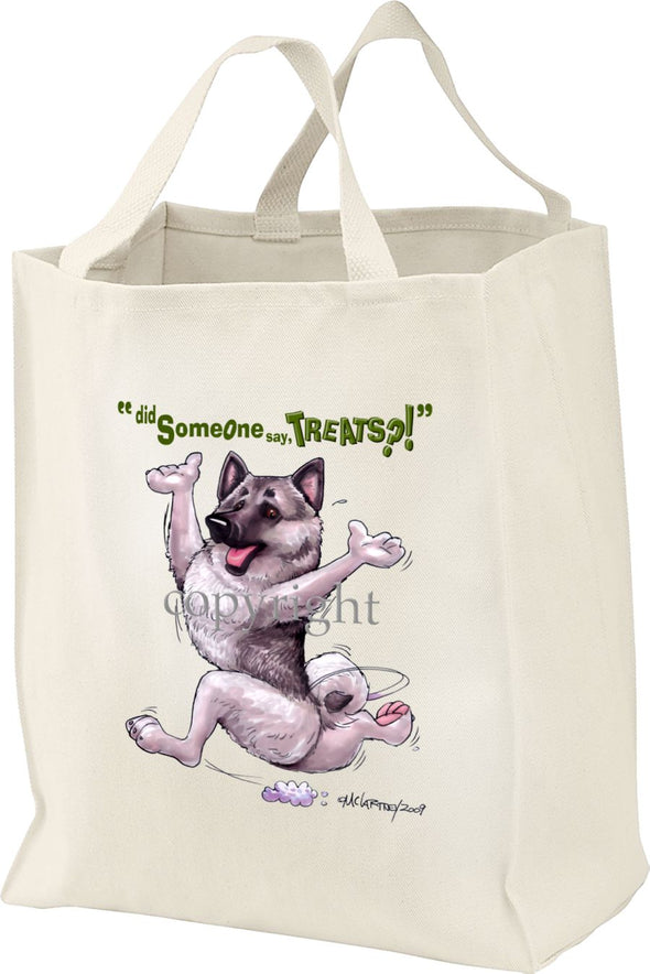 Norwegian Elkhound - Treats - Tote Bag