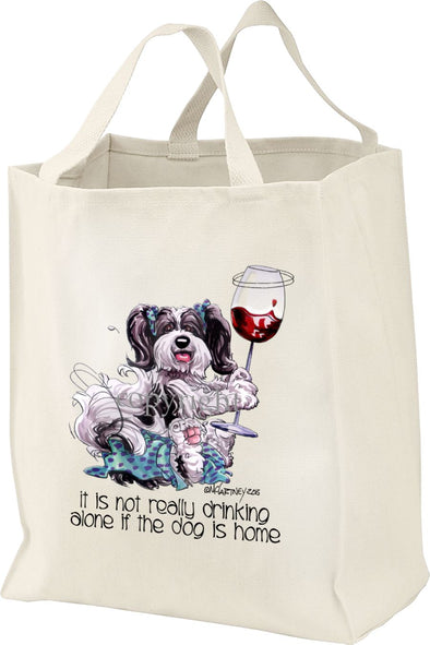 Havanese - It's Not Drinking Alone - Tote Bag