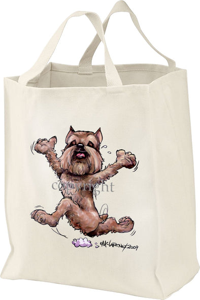 Brussels Griffon - Happy Dog - Tote Bag