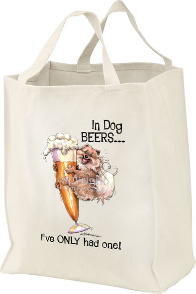 Pomeranian - Dog Beers - Tote Bag