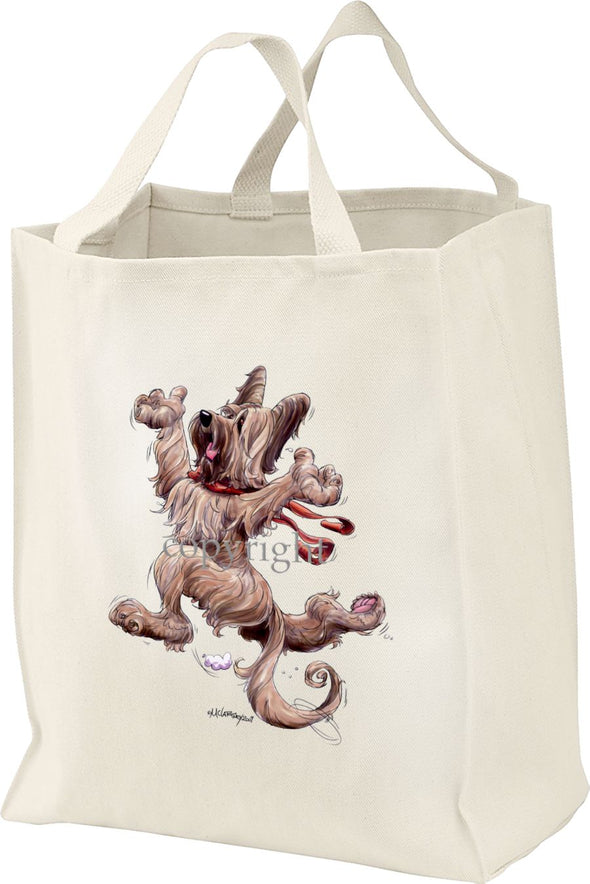 Briard - Happy Dog - Tote Bag