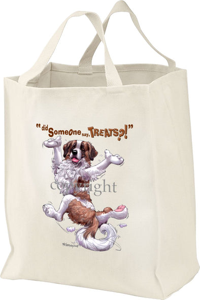 Saint Bernard - Treats - Tote Bag