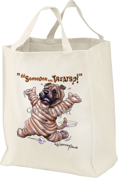 Shar Pei - Treats - Tote Bag