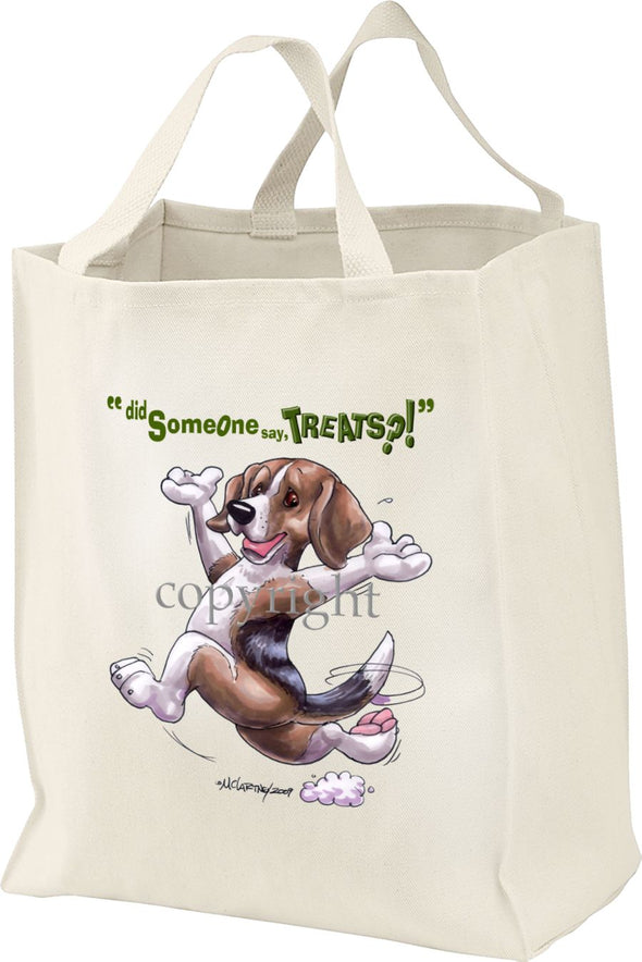 Beagle - Treats - Tote Bag