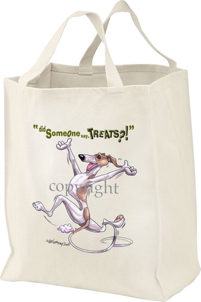 Whippet - Treats - Tote Bag