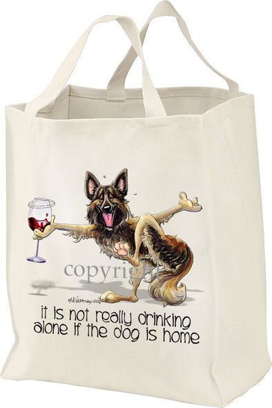Belgian Tervuren - It's Not Drinking Alone - Tote Bag